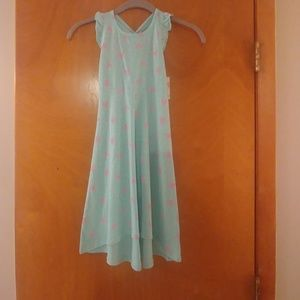 NWT girls hi/low dress